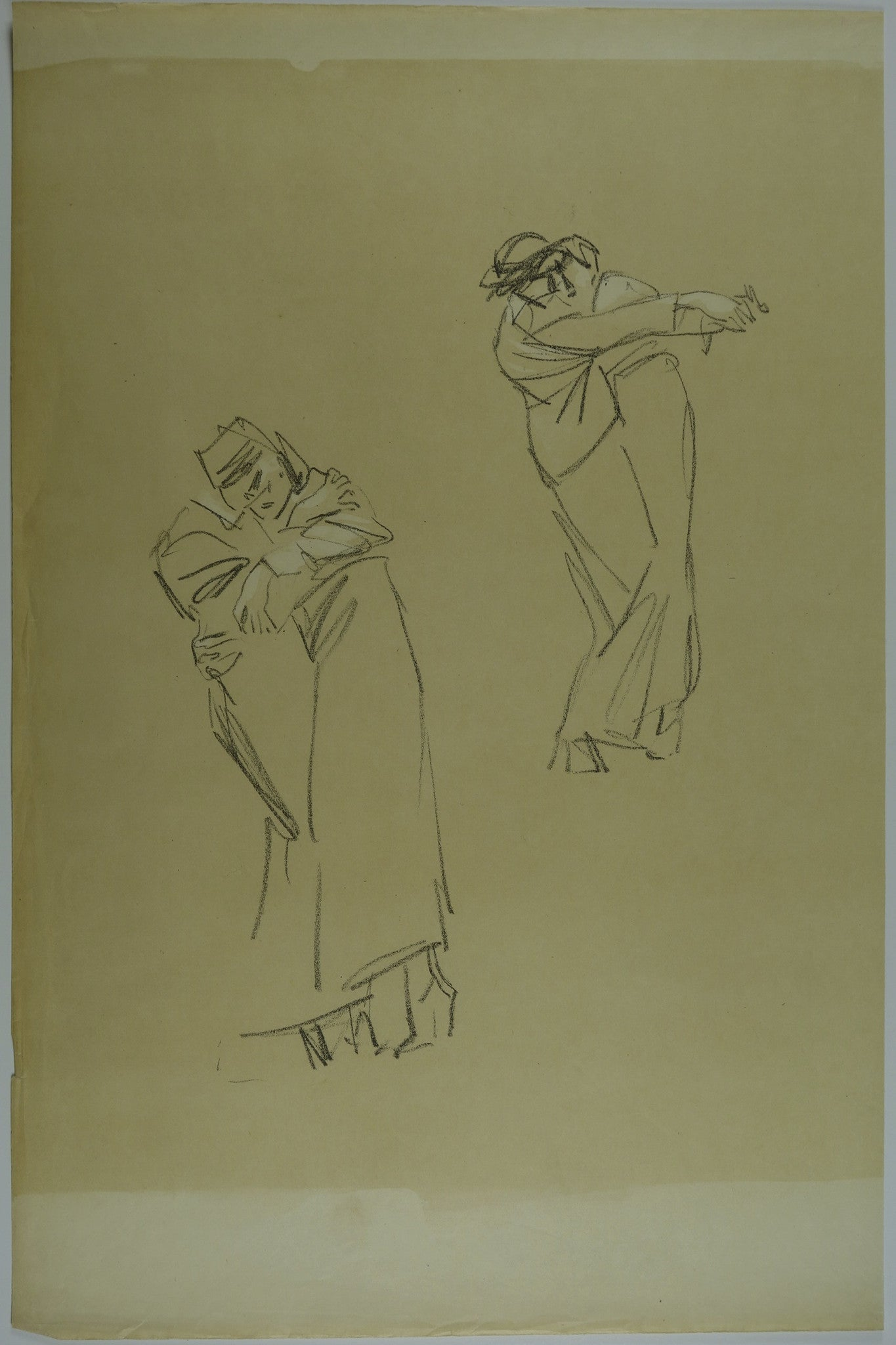 People dancing tango Lithograph