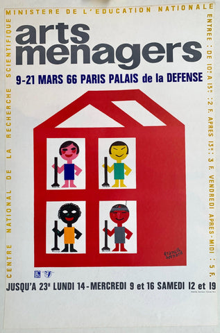 Arts Menagers 9-21 Mars 66 Paris Palais de la Defense