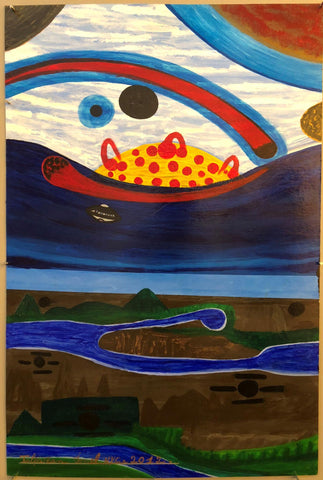 Ionel Talpazan - UFO Flying by Sunrise Horizon