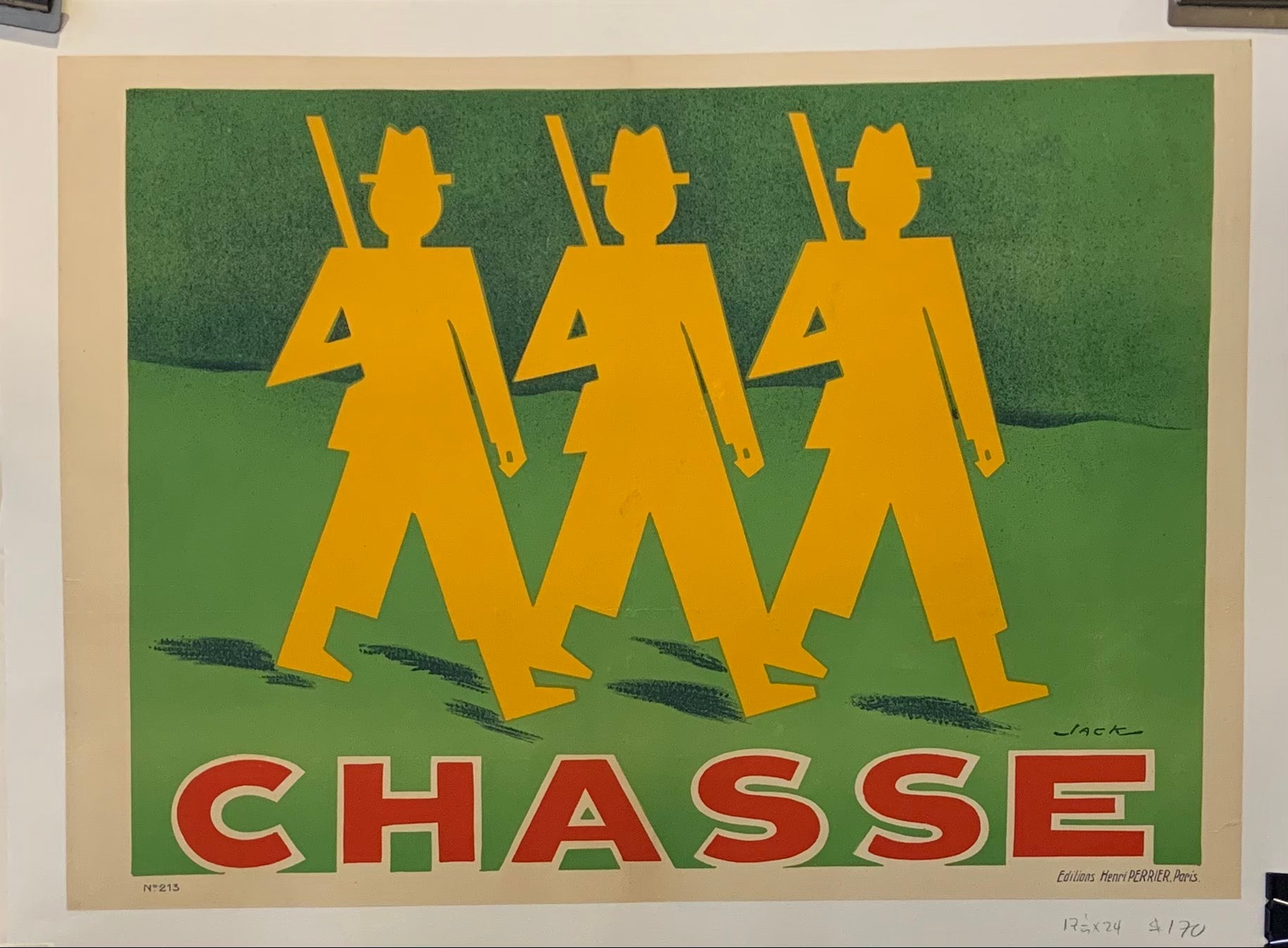 Chasse Poster
