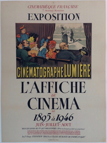 Exposition L'Affiche De Cinema De 1895 a 1946