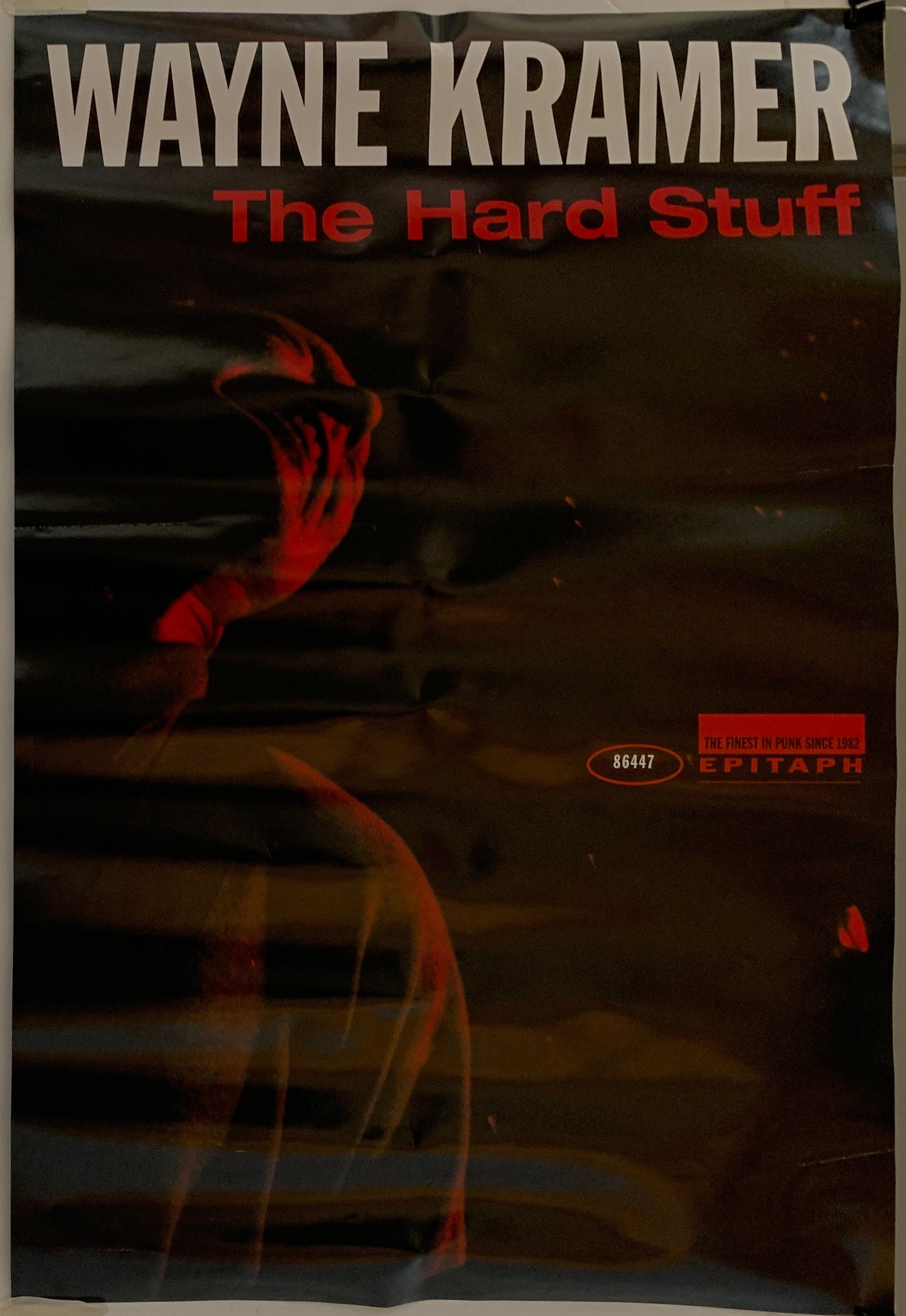 Wayne Kramer The Hard Stuff Poster