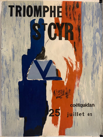 Triomphe St Cyr Poster