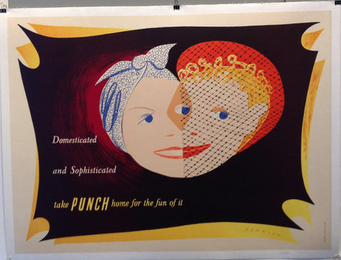 Domesticated and Sophisticated take Punch home for the fun of it - Poster Museum