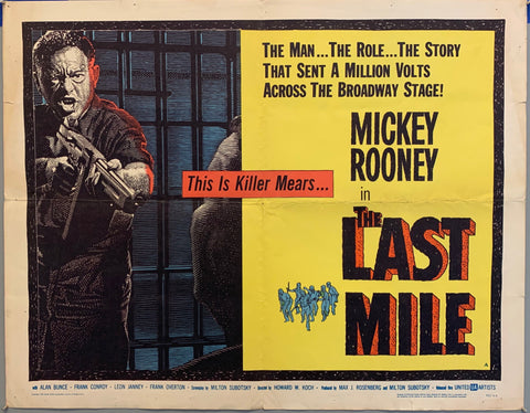 man with gun and men fighting in pirson the last mile movie poster