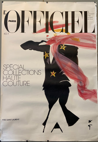 L'Officiel Paris Poster