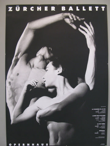 Zürcher Ballett Swiss Poster