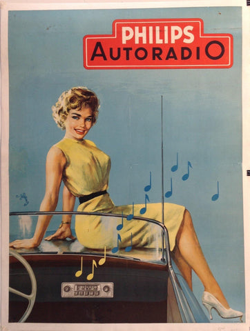 Philips Auto Radio Ad