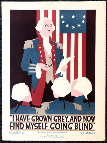 """I have grown Grey, and Now Find Myself Going Blind"" - Poster Museum"