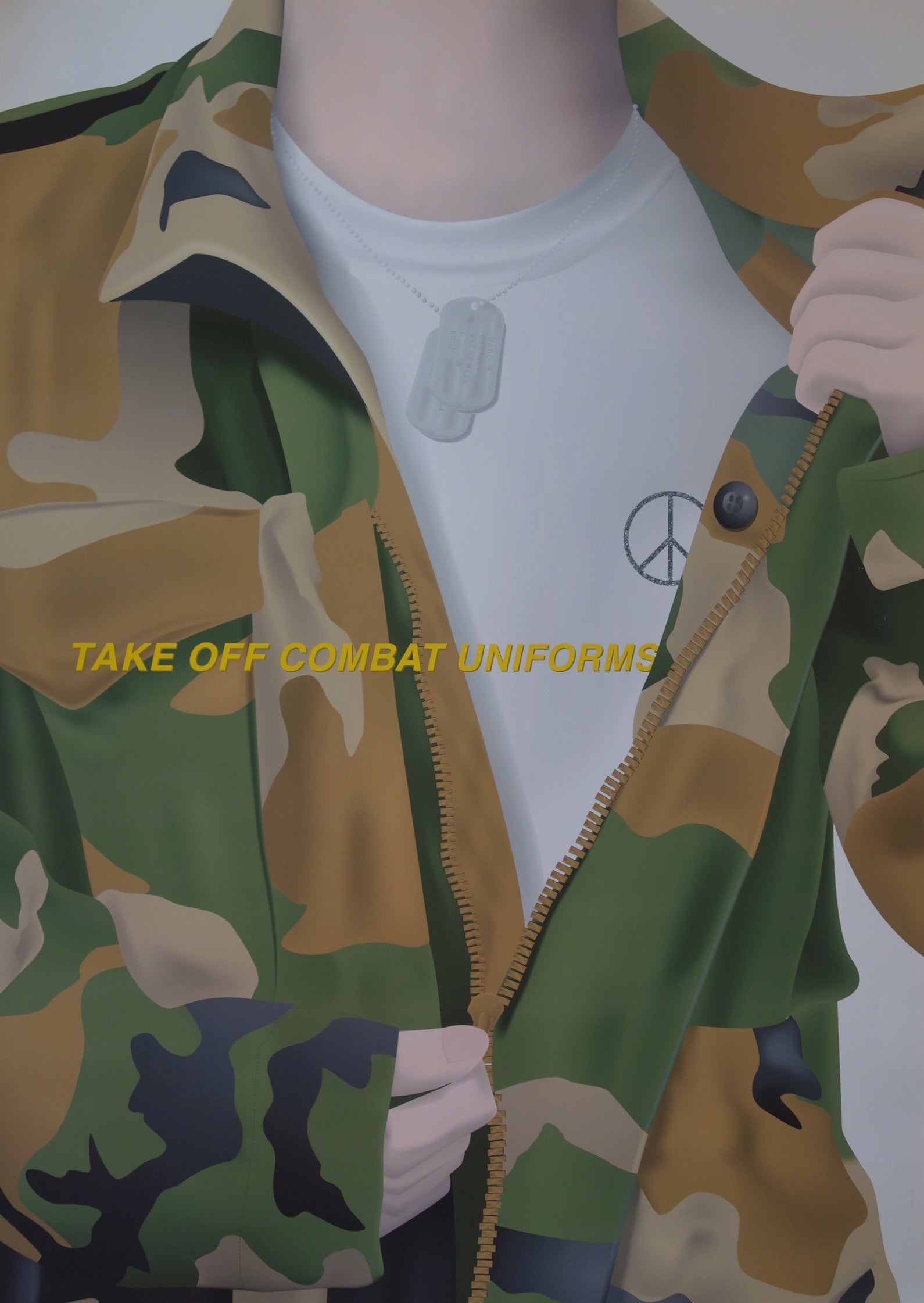 Take Off Combat Uniforms
