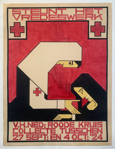 Roode Kruis Poster