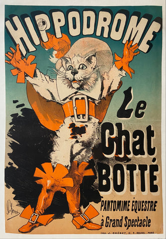 Le Chat Botté Poster