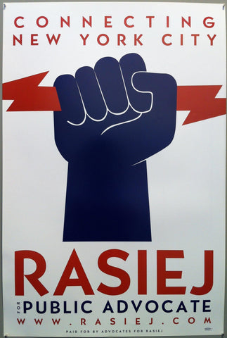 "Rasiej for Public Advocate ""Connecting New York City"""