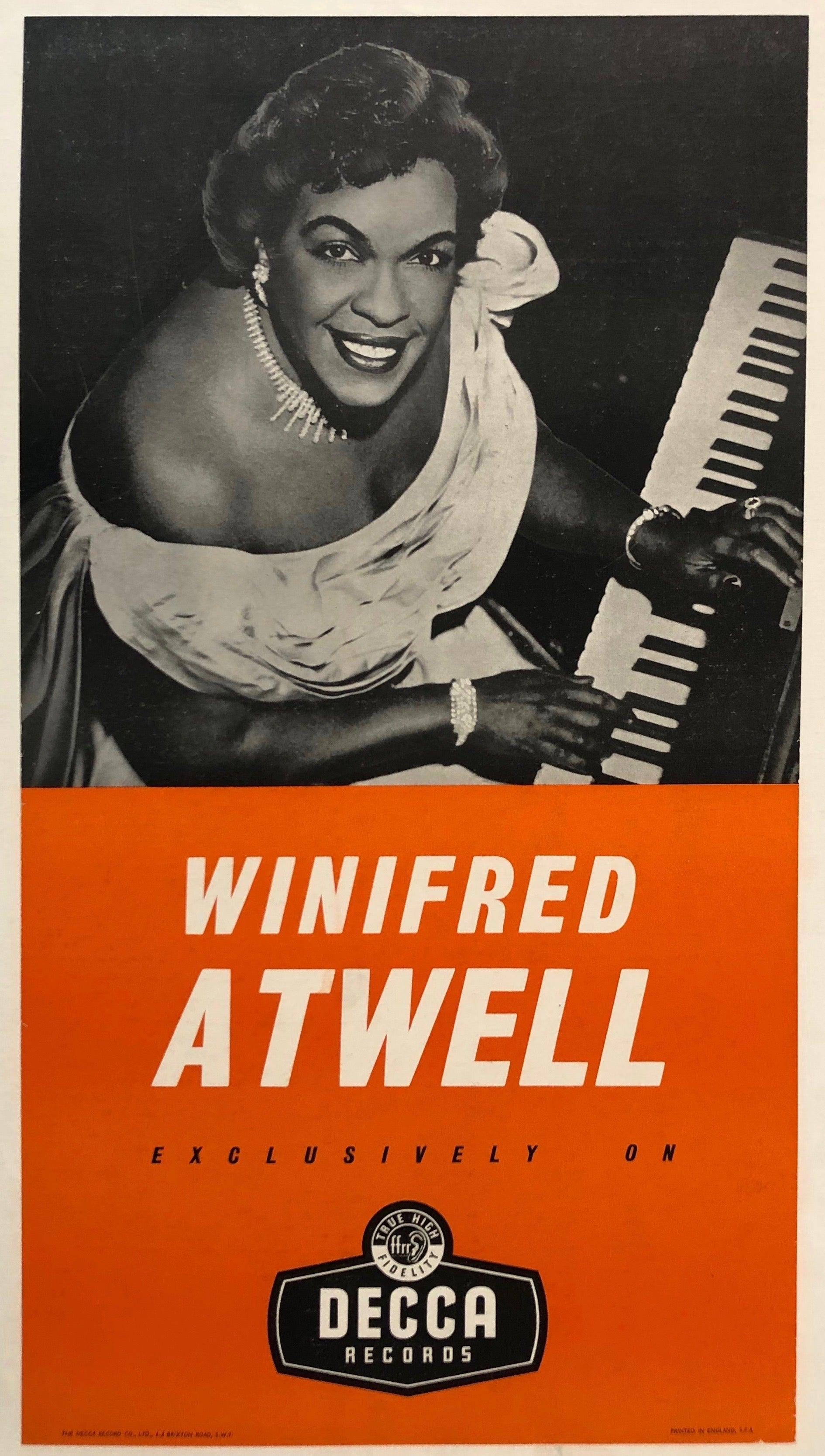Winifred Atwell Exclusively On Decca Records