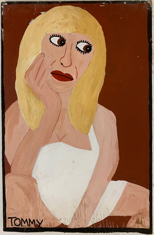 Courtney Love #77 Tommy Cheng Painting