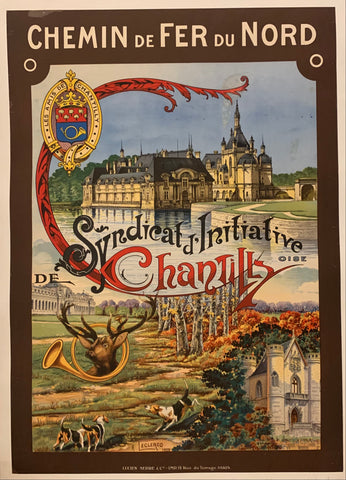 Syndicat d'Initiative de Chantilly Poster