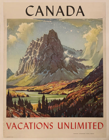 Canada Vacations Unlimited Poster