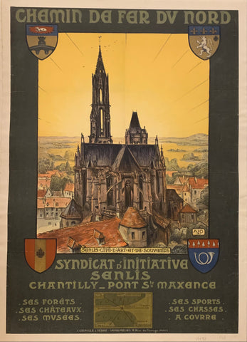 Syndicat d'Initiative Senlis Poster