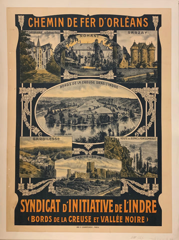 Syndicat d'Initiative de l'Indre Poster