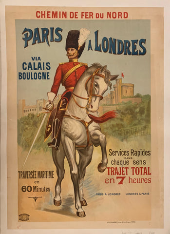 Paris a Londres Poster