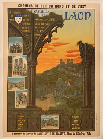 Laon Poster
