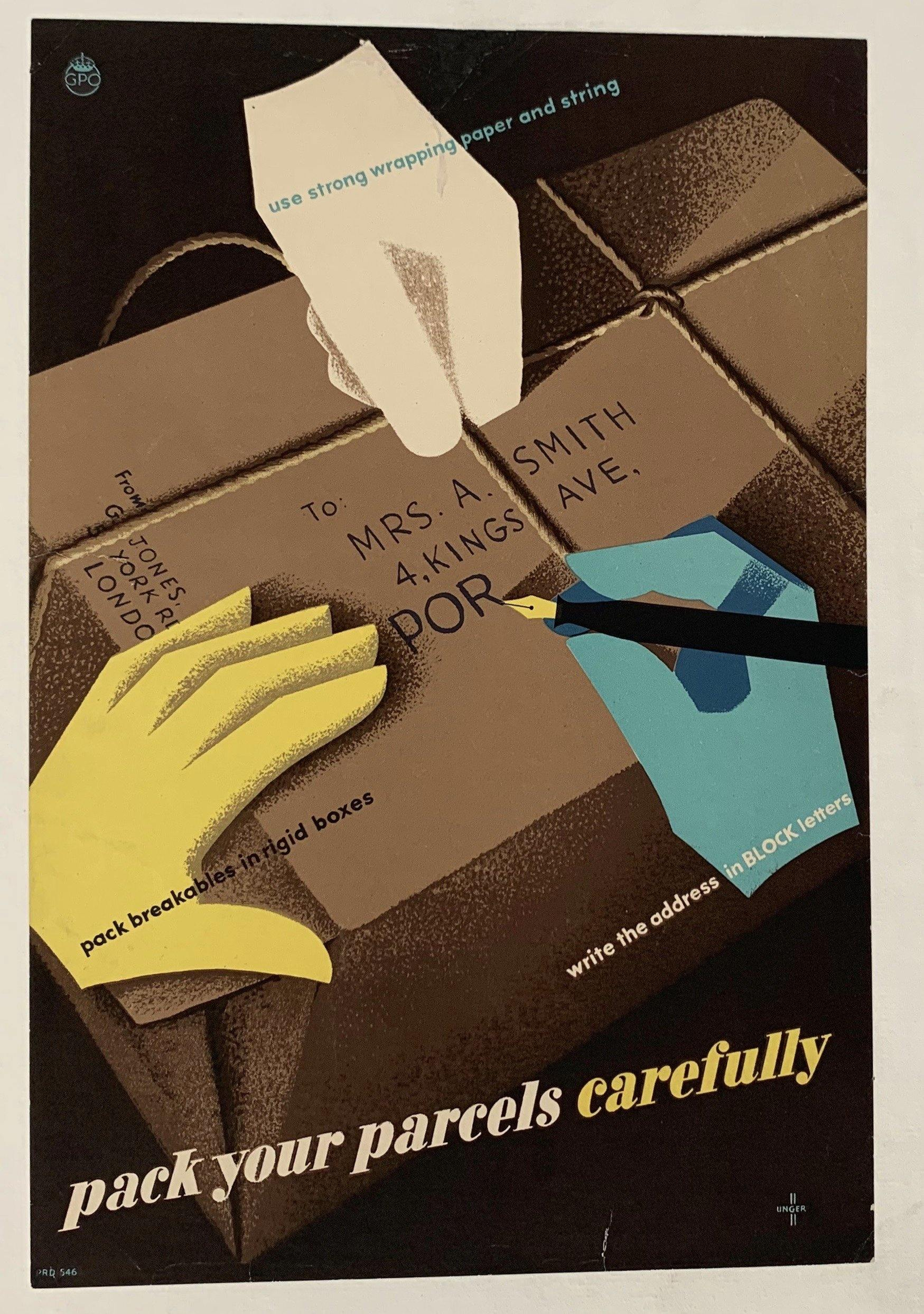 Pack your parcels carefully - Poster Museum