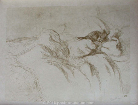 Woman Reclining - Waking-up (Elles Series)