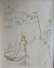Woman Washing Herself (Elles Series)