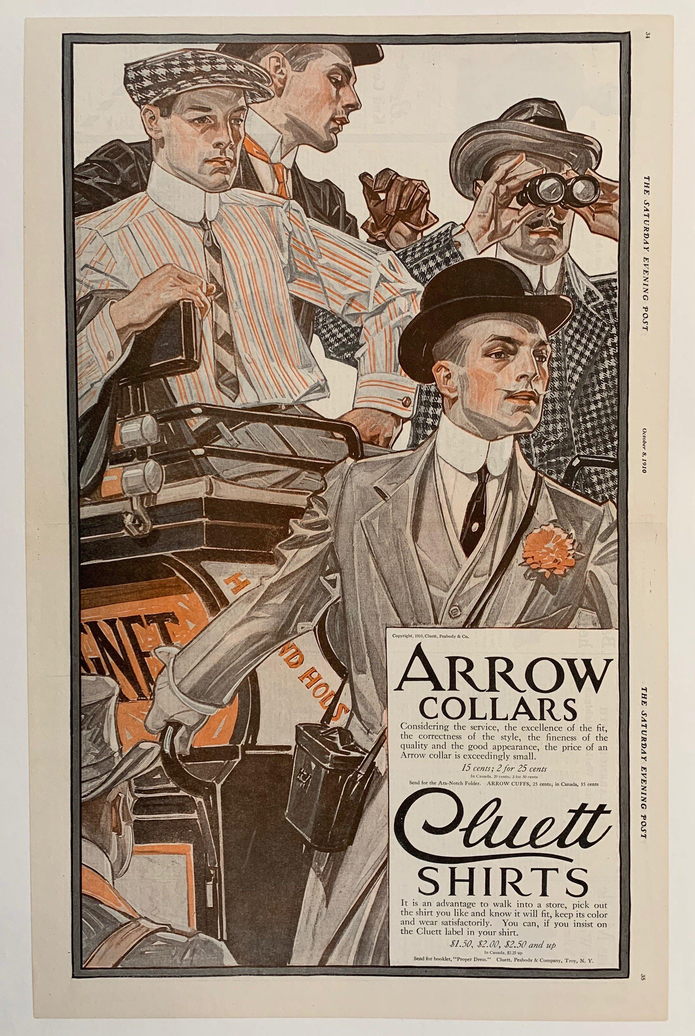Arrow Collars - Poster Museum