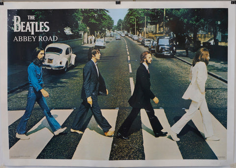 The Beatles Abbey Road Crossing - Poster Museum