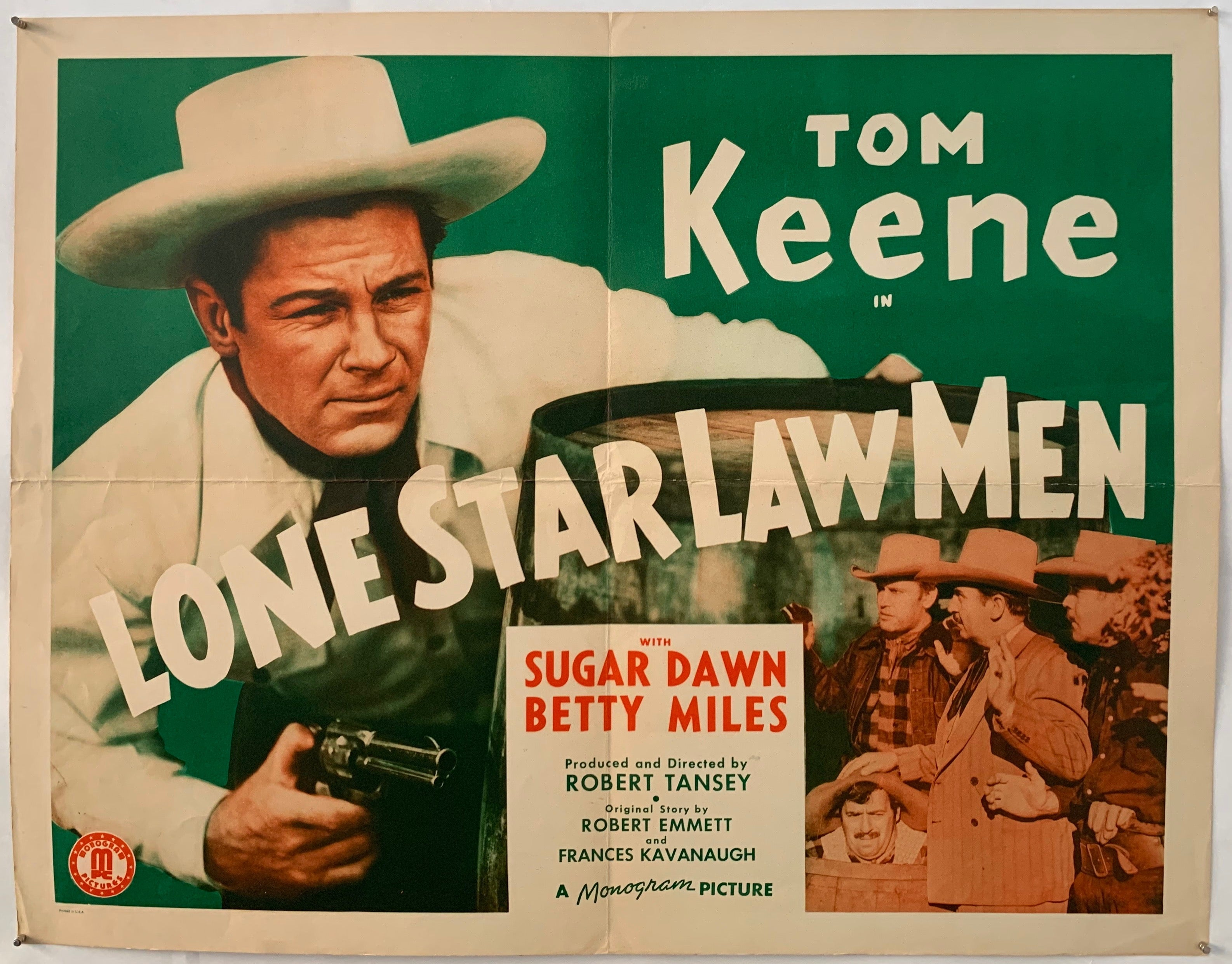 Lone Star Law Men Poster