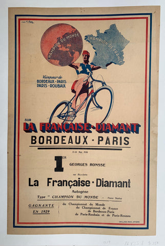 Sur La Francaise - Diamant Bordeaux - Paris