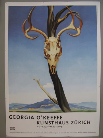 Georgia O'Keefe Swiss Poster