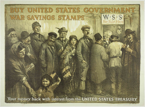 Buy United States Government war Saving Stamps
