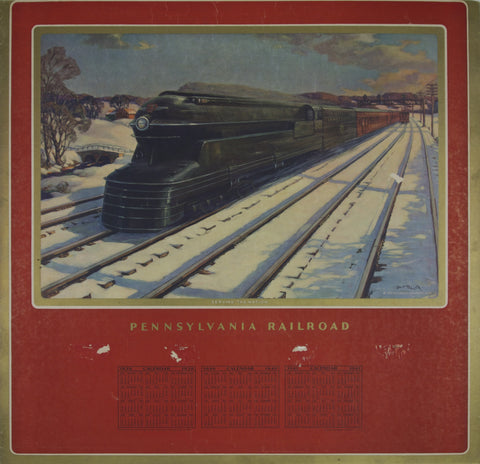 Pennsylvania Railroad - Serving the nation