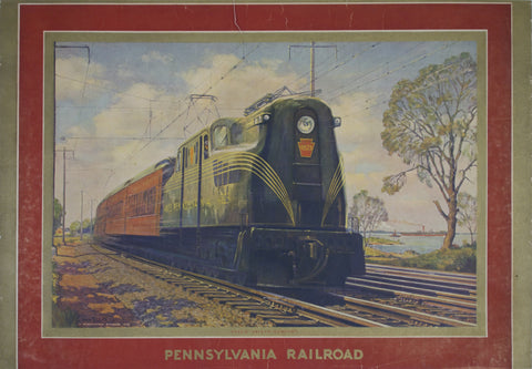 Pennsylvania Railroad - Speed-Safety-Comfort