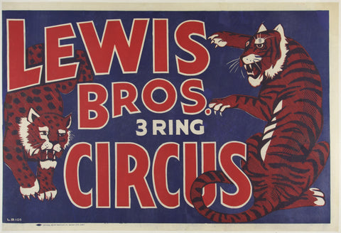Lewis Bros 3 Ring Circus