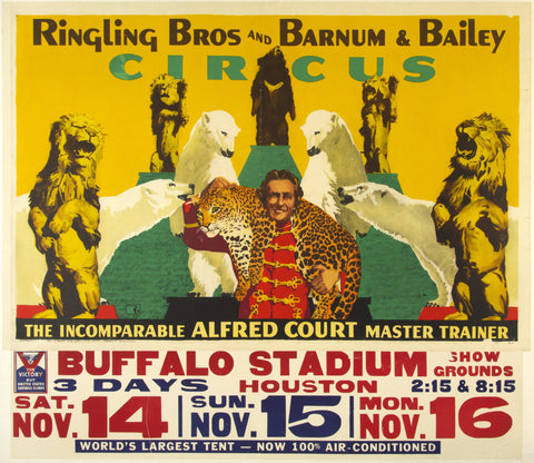 SOLD????  COULD NOT FIND -- 6/1/20Ringling Bros. and Barnum and Bailey