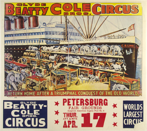 Clyde Beatty Cole Bros. Circus
