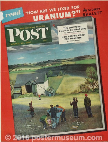 Saturday Evening Post Magazine March 18, 1950
