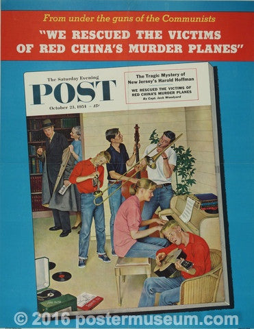 Saturday Evening Post October 23, 1954