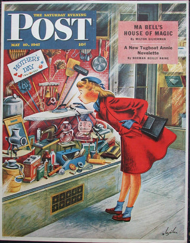 Saturday Evening Post May 10 Ma Bell S House Of Magic 1947