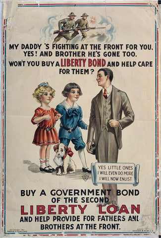 Buy a Government Bond of the Second Liberty Loan