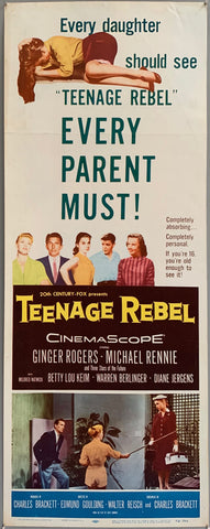 Teenage Rebel Poster