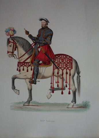 XVI Siecle King Francais I of France