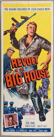 Revolt in the Big House Poster
