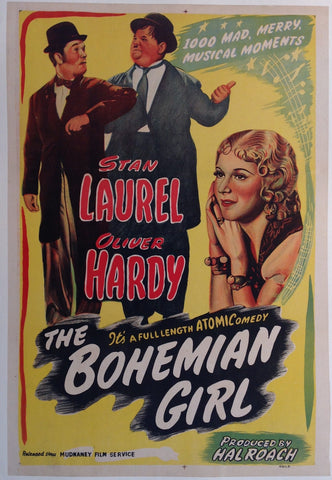 The Bohemian Girl Film Poster