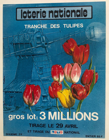 "Loterie Nationale - ""Tranche des Tulipes"""