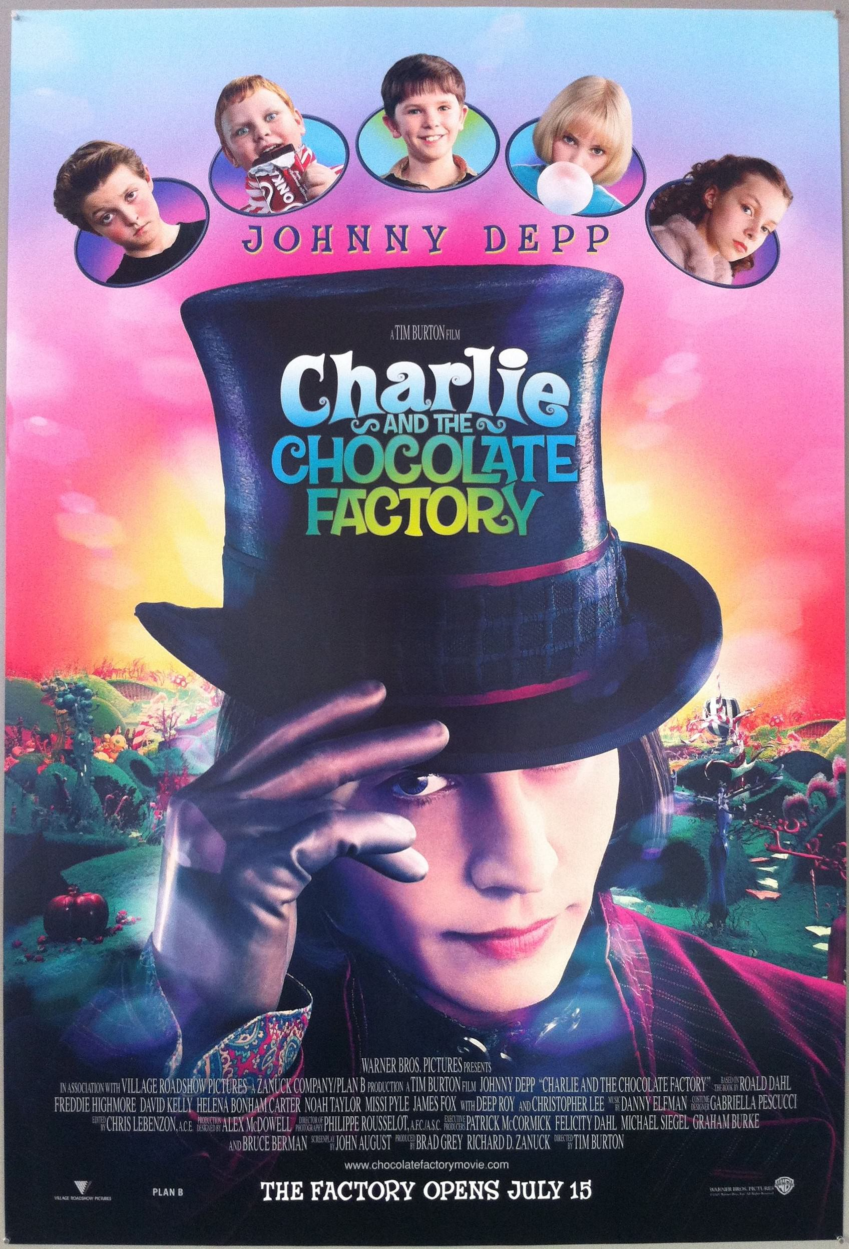 نتيجة بحث الصور عن ‪Charlie and the Chocolate Factory‬‏
