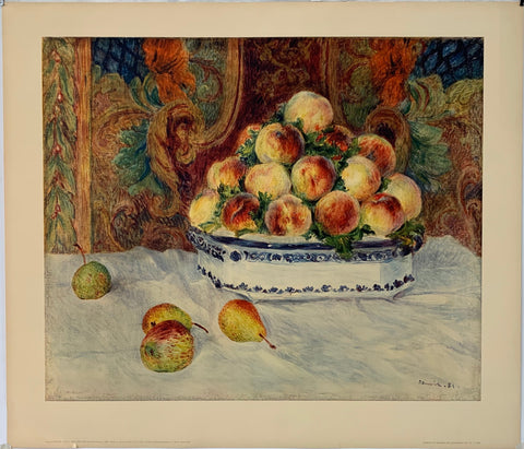 Painting of Fruit by Renoir